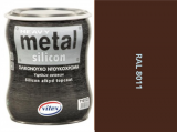 Vitex Heavy Metal Silikon - alkyd RAL 8011 750ml